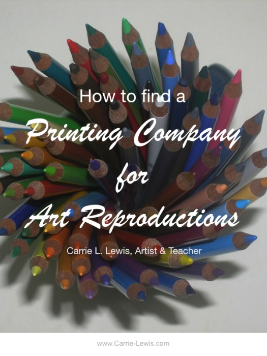 How to Find a Printing Company for Art Reproductions