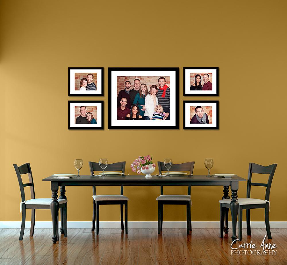 Wall Display Ideas : The Bopp Family : Grand Rapids Family ... on Photo Room Decor  id=30858