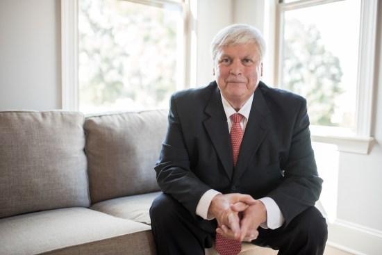 A professional commercial portrait of a gentleman during a headshot photography session Professional Portrait by Carrie Anne White Charlotte NC Photographer