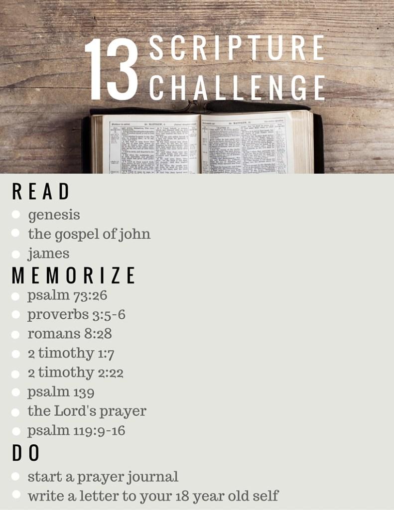 13 scripture challenge.full