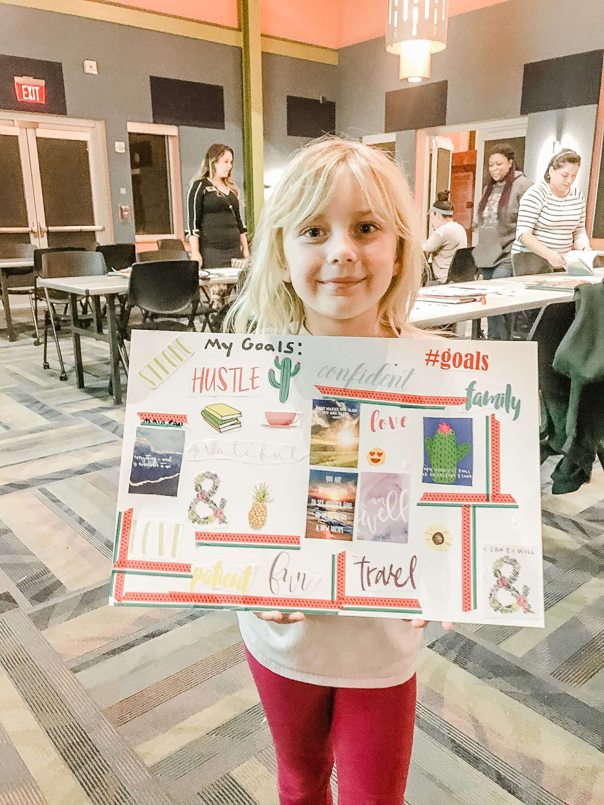 Printable Vision Board Template For Kids