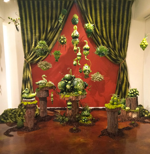 SUPERnatural!, solo exhibit, Cabrillo College Art Gallery, Aptos, CA