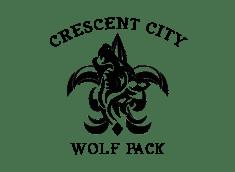 Crescent City Wolf Pack Logo