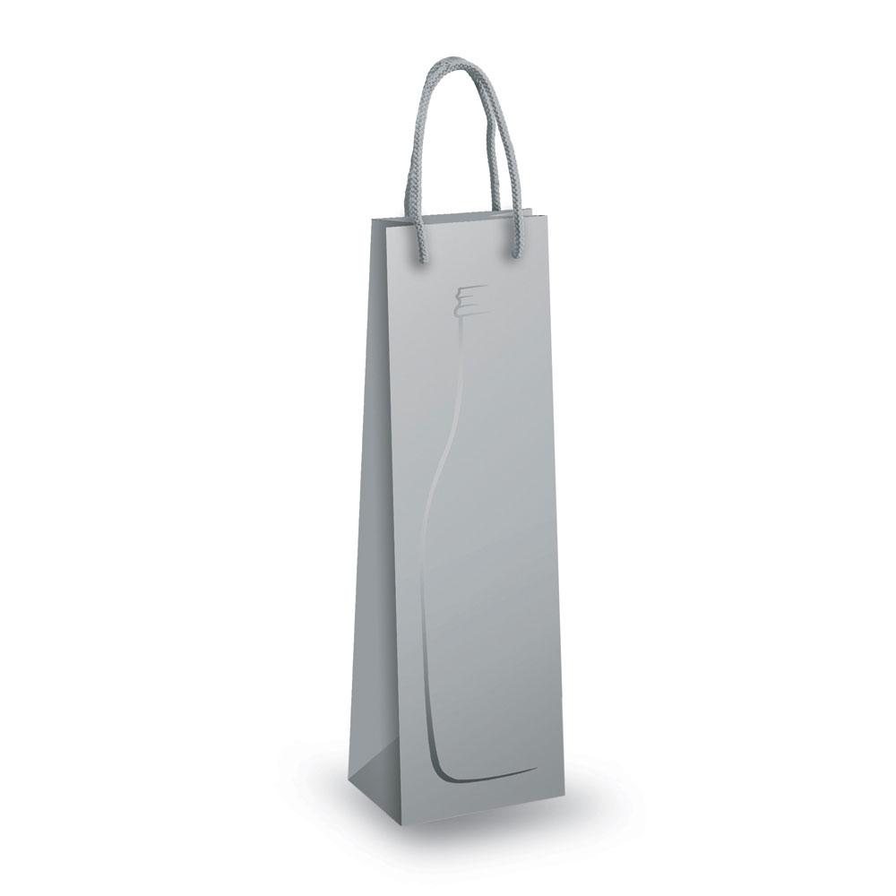 Kraft paper bag for bottles. Raboso Silver Design Wine Bottle Bags Carrier Bag Shop