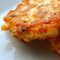 Corn & Cheddar Mashed Potato Fritters