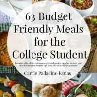 63 Budget Friendly College Meals