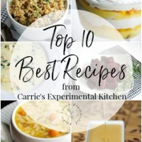 The Top 10 Best Recipes (2019 edition)