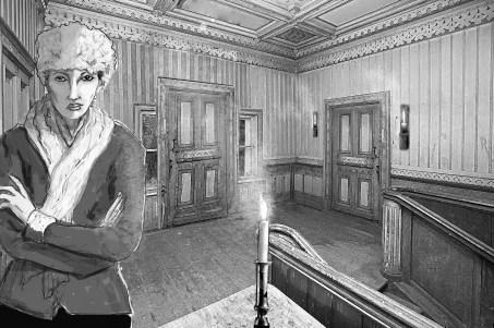 Antagonist Mrs. Polzin in Treasure Trap - Carrie ©