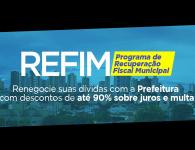 REFIM – Programa de Recuperação Fiscal Municipal
