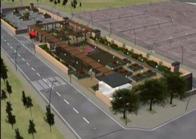 2006 Parking Subterraneo con Plaza Pública en Mostoles (concurso)