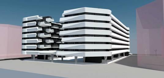Conjunto residencial de viviendas sostenibles en Getafe