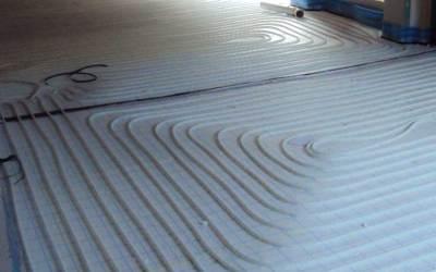 Suelo radiante, climatización en uso residencial