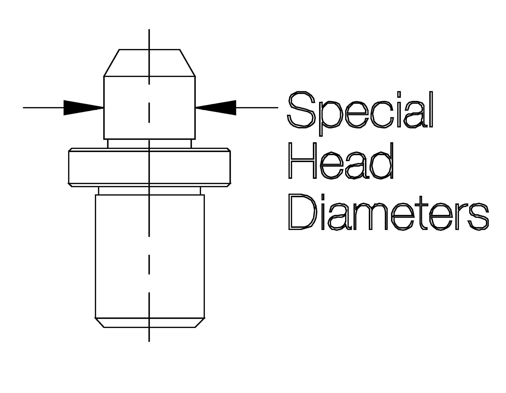 Round Locating Pins Lockscrew Type