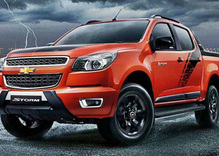 Nova Chevrolet Colorado High Country Storm Lanamento Na