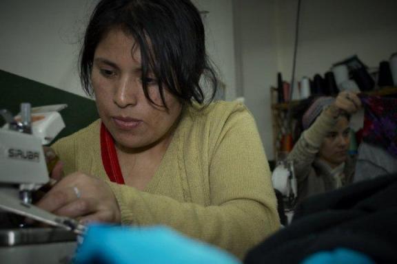 Trabajadora migrante en Argentina. / La Alameda - No Chains