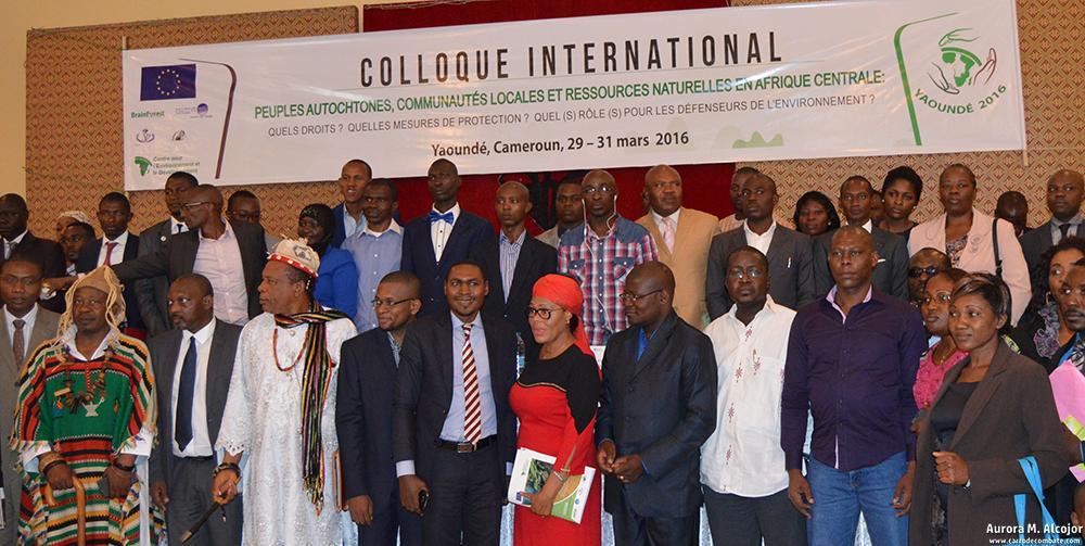 La Universidad de Yaoundé celebró en marzo de 2016 un gran encuentro internacional para tratar el tema de los defensores del medioambiente, el acaparamiento de tierras y los problemas medioambientales en la Cuenca del Río Congo.