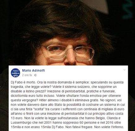 Mario Adinolfi è una merda