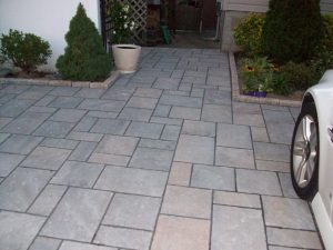 Ambient Heating for Driveways and Walkways