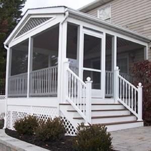 screened porch Carroll Landscaping