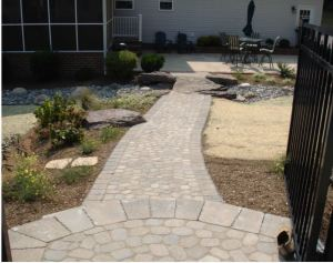 Landscaping solutions for storms Carroll Landscaping