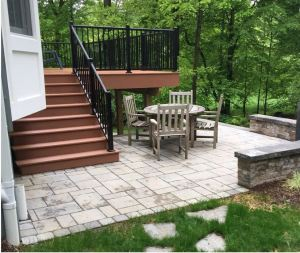 Decks or Patios for an Outdoor Living Space Carroll Landscaping