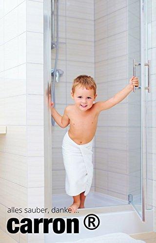 Dusche reinigen von Kalk und Schmutz mit carron®