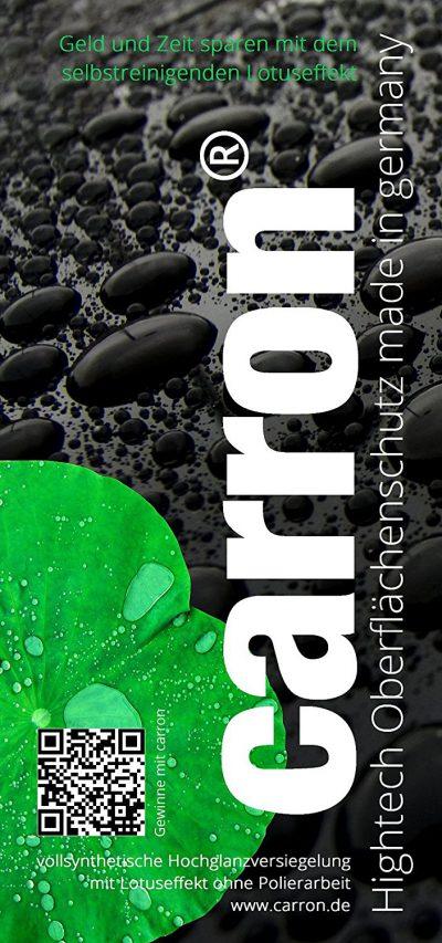 Erfahrung & Test carron® Lotuseffekt Versiegelung Dusche Duschwand Glas Acryl gegen Kalk + Aktion: Microfaser-Poliertuch gratis dabei. Auch für Versiegelung von Badewannen.