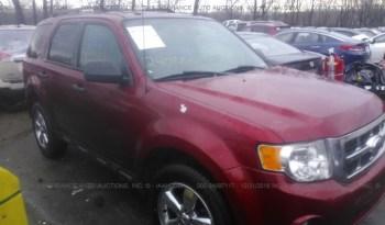 Vendo Ford Escape 2012, (A reparar), Reservela Ya!, Estara en Aduana en aproximadamente 28 días, Automática, Motor 2.5L, 4 cil., rines, Full Extras (vidrios y espejos eléctricos), bolsas buenas, $6500 Inf. al correo ó 79278982