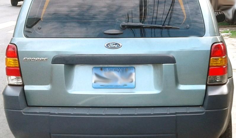Ford Escape 2007 full