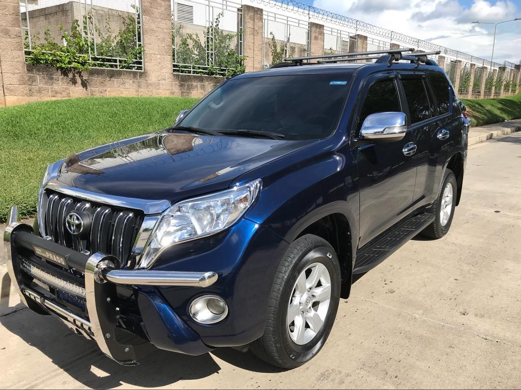 Venta De Carros En El Salvador >> Toyota Land Cruiser Prado 2016 - Carros en Venta San Salvador El Salvador