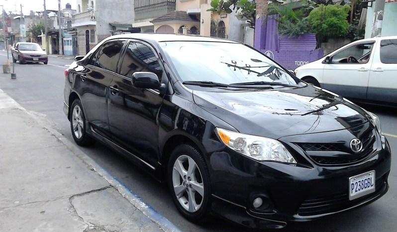 Usados: Toyota Corolla S 2011 automático color negro full