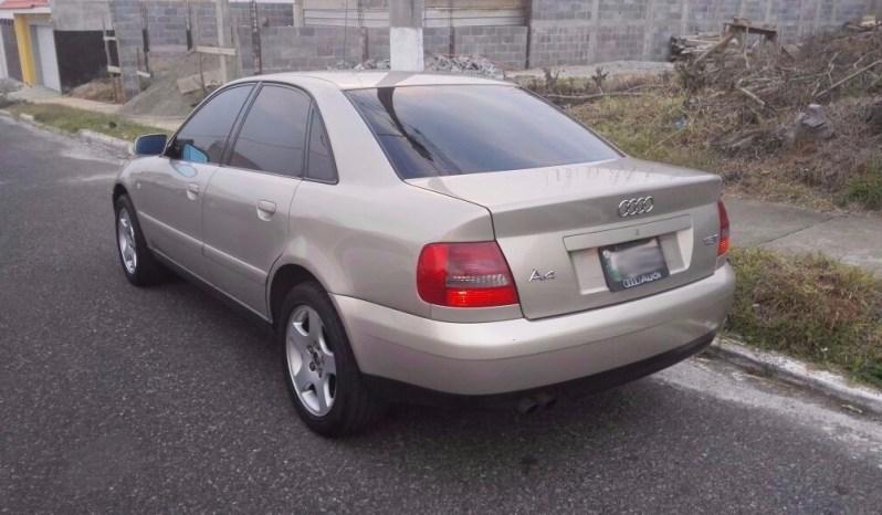 Usados: Audi A4 2001 de agencia, full equipo