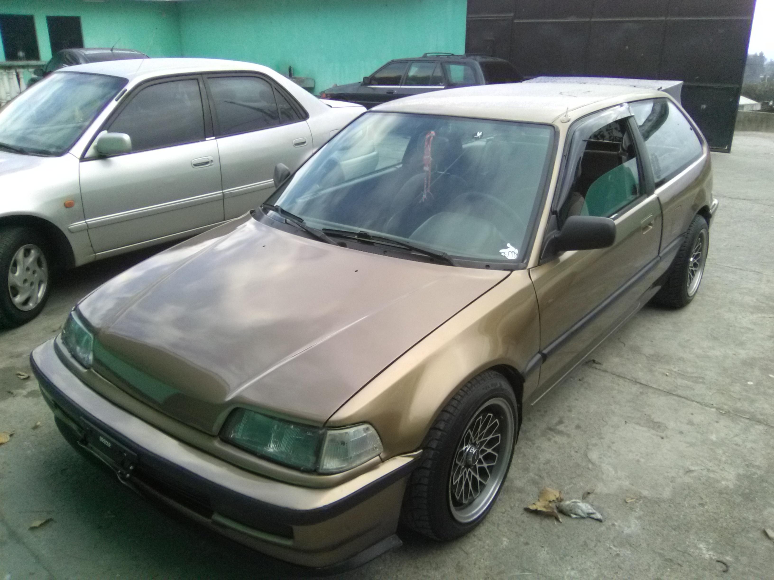 Usados: Honda Civic 1990 en Guatemala City - Carros Guatemala