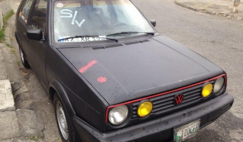 Usados: Volkswagen Golf 1992 en Ciudad de Guatemala full