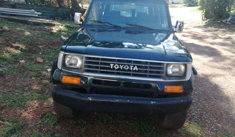Toyota Land Cruiser 1995 full