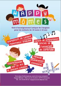 HAPPY MOMES anglais pour les enfants