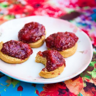 best strawberry chia seed jam