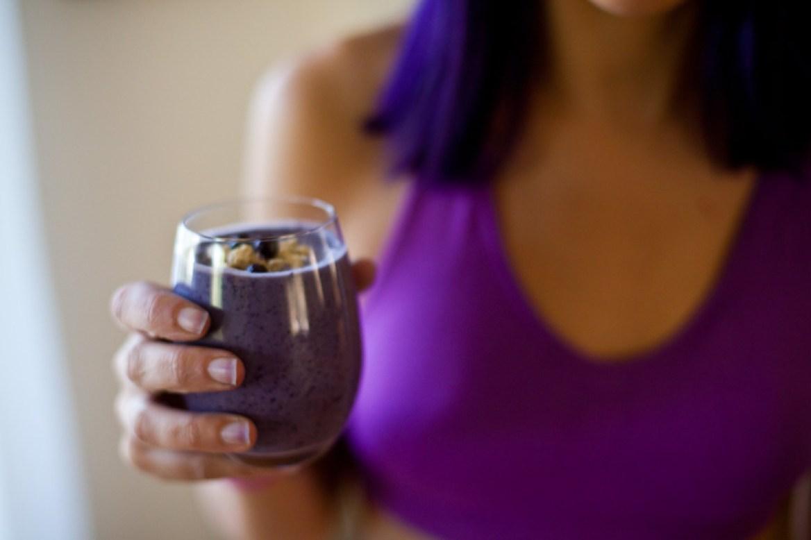 blueberry cobbler smoothie