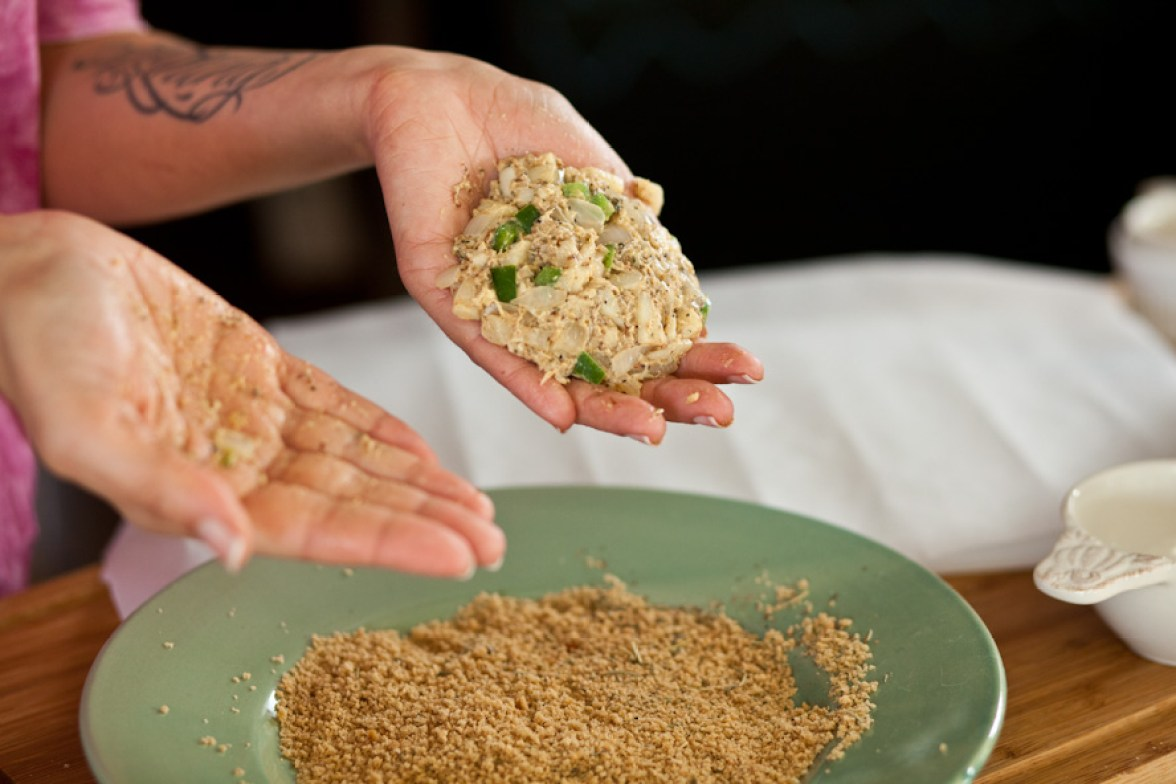 Vegan Crab Cakes