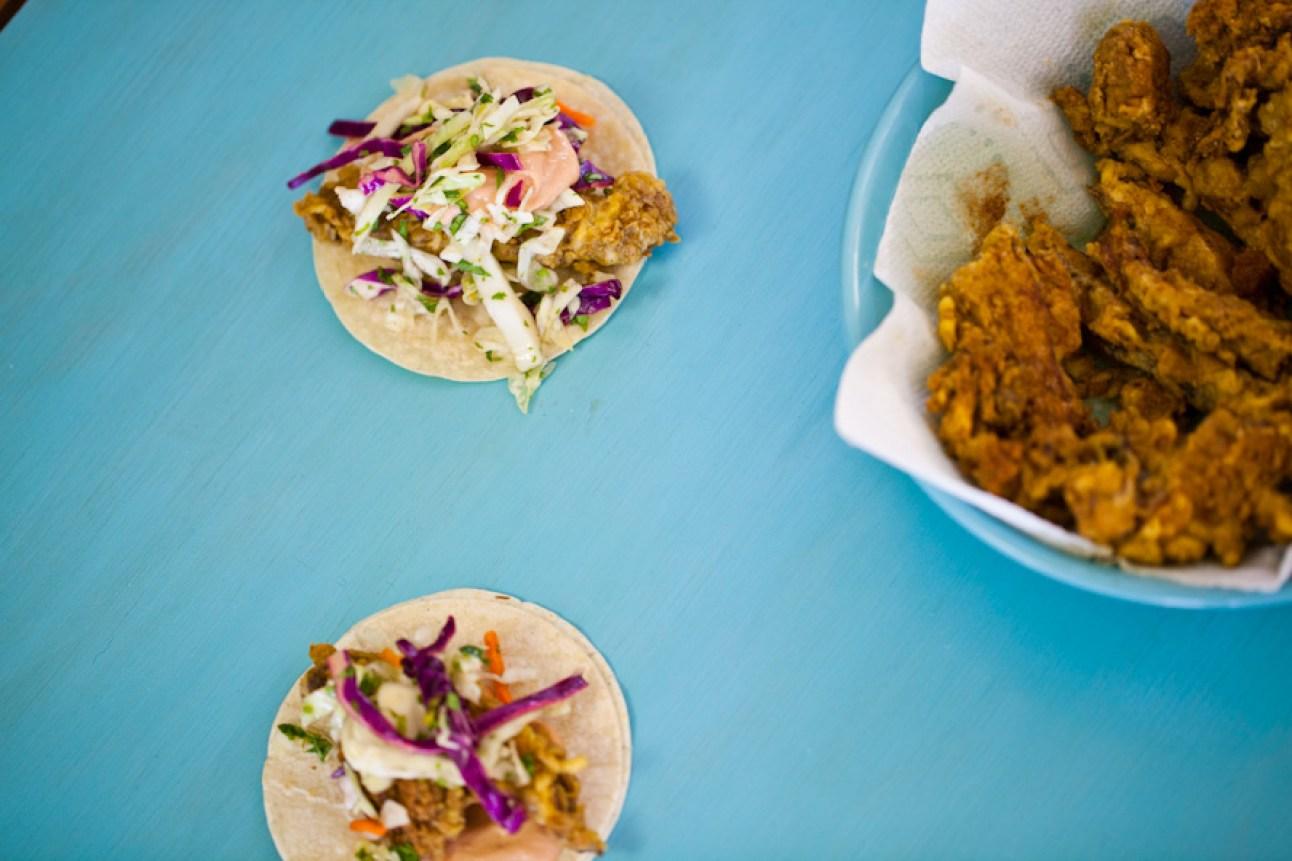 Vegan Baja Fish Tacos