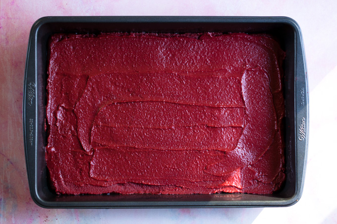 IRRESISTIBLE Vegan Red Velvet Cheesecake Brownies that are actually HEALTHY! Flourless, gluten-free, and packed with protein   They make the perfect quick holiday dessert recipe!
