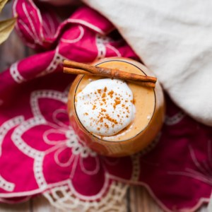 Vegan Sweet Potato Egg Nog