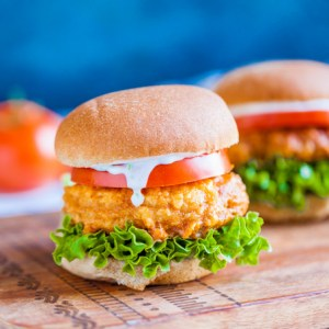 Vegan Buffalo Chickpea Sandwiches