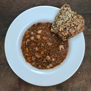 Hearty Vegan Lentil Stew