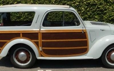 Fiat – 500 B Giardinetta Accossato