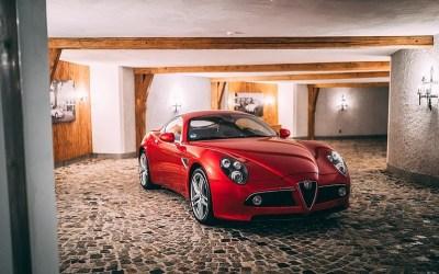 Alfa Romeo – 8C Competizione Touring