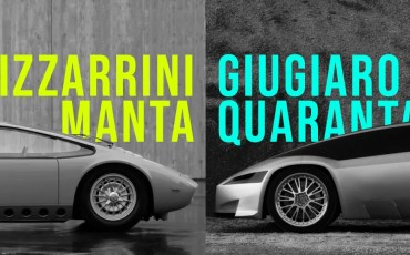 Bizzarrini Manta VS Giugiaro Quaranta