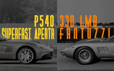 Ferrari P540 VS Ferrari 330 LMB
