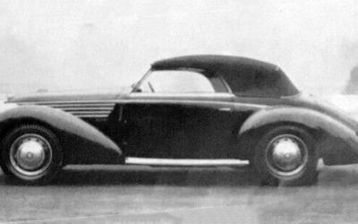 Alfa Romeo – 6C 2300B Cabriolet Vistotal