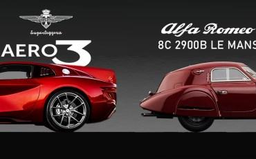 Touring Aero3 VS Alfa Romeo 8C 2900B